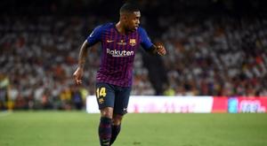 Malcom conta como foi sua estranha chegada ao Barcelona. AFP