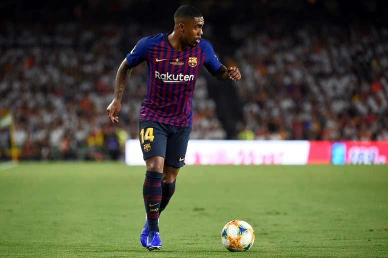 Malcom falou sobre a sua passagem pelo Camp Nou. AFP