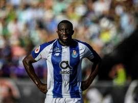 West Ham com os olhos postos em Moussa Marega. AFP