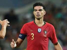Pepe é um dos veteranos da lista. AFP