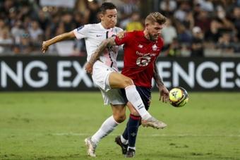 Ander Herrera analyse la victoire du PSG contre Troyes. AFP