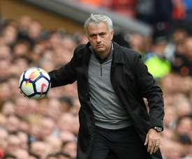 Mourinho vigila a un nuevo talento. AFP