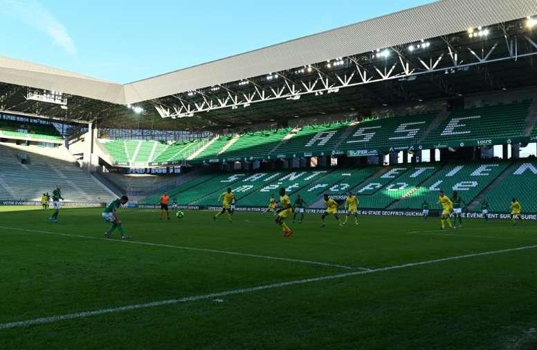 Six Nantes players have now had coronavirus. AFP