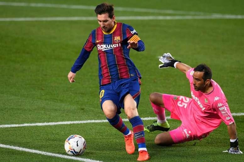 Pour Rivaldo, cette saison est la dernière de Messi au Barça. AFP