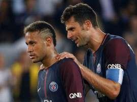 Motta a confiance à la continuité de Neymar. AFP