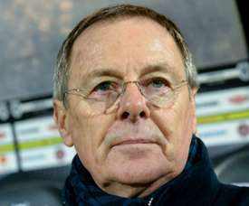 Lentraîneur de Bordeaux Eric Bedouet. AFP