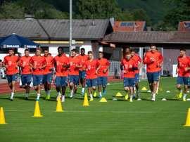 La saison reprend avec la coupe en Allemagne. AFP