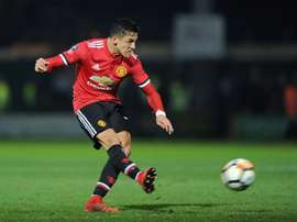 Sanchez assisted two goals on his United debut. AFP