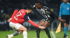 El Lille se suma a la lucha por la Champions. AFP