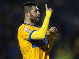 Gignac marcó el definitivo 3-2. AFP
