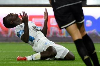 Marseille freiné à Angers, qui grimpe sur le podium. AFP