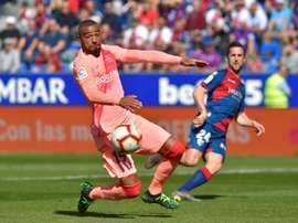 Boateng did not deliver in his second performance for Barcelona. AFP