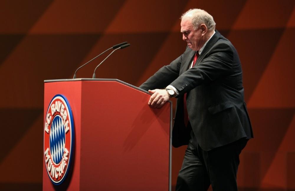Hoeness tacle la gestion du Barça. AFP