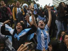 Les reactions en Argentine. AFP