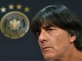 Löw ne voit pas l'Allemagne favorite en cas de qualification à l'Euro. AFP
