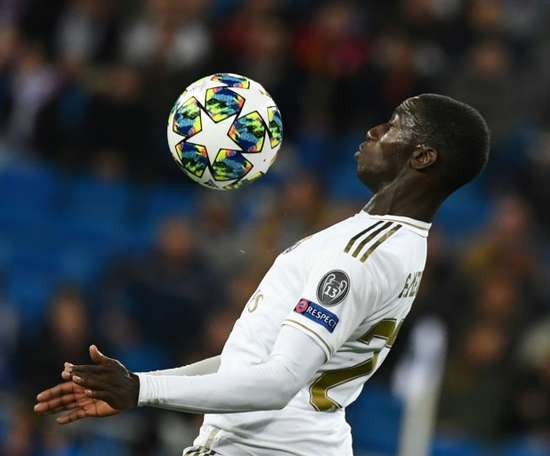 Mendy has become Zidane's preferred choice. AFP
