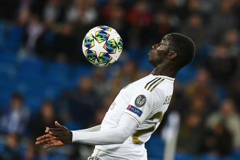 Mendy est devenu le 'chouchou' de Zidane. AFP