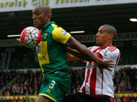 Wisdom spent last season on loan at Norwich from Liverpool. AFP