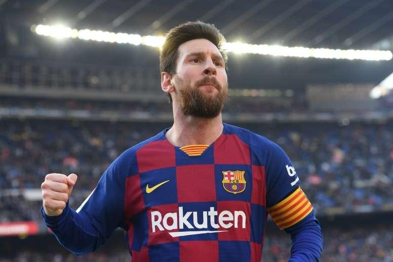 Messi informó de la medida a través de sus redes. AFP