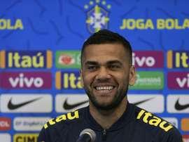 Dani Alves veut mettre fin à cette longue période de disette. AFP
