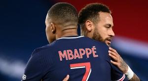 Kylian Mbappé e Neymar voltaram a fazer a diferença com o Paris Saint-Germain. AFP
