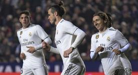 Les compos probables du match de Liga entre Valence et le Real Madrid. AFP