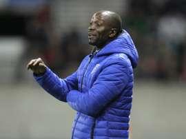 Makélélé vai treinar o KAS Eupen. AFP