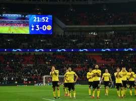 Le Borussia a connu une semaine noire. AFP