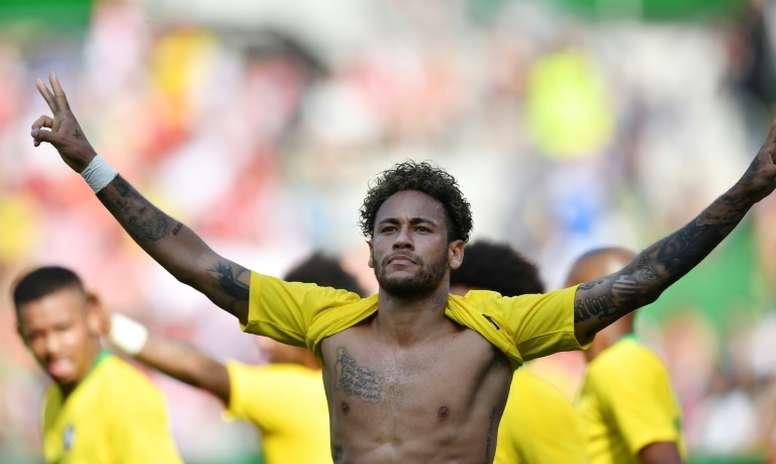 Le Brésil assure. AFP