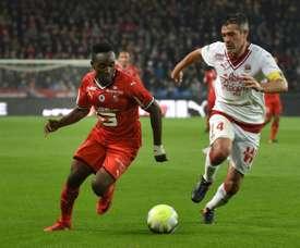 Mubele rejoint Toulouse. AFP