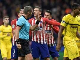 Le défenseur français de l'Atlético Madrid, Lucas Hernandez. AFP