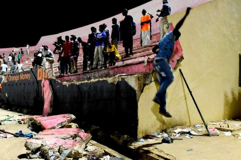 Senegal suspends sports events after football deaths. AFP