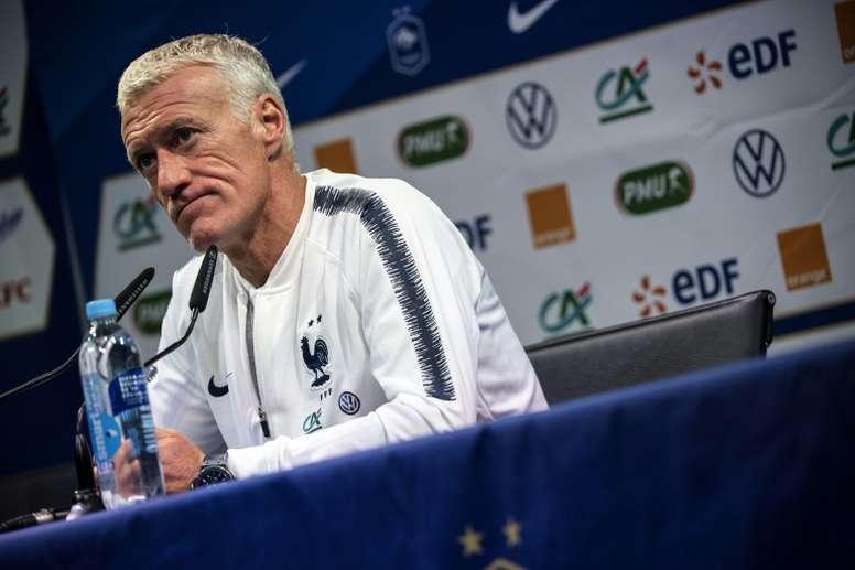 Deschamps empatizó con la defensa de Zidane a Benzema. AFP