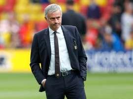 José Mourinho puede dejar a tres de sus estrellas en el banquillo ante el Northampton. Archivo/EFE