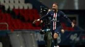 Neymar troleó a Haaland con su celebración. AFP