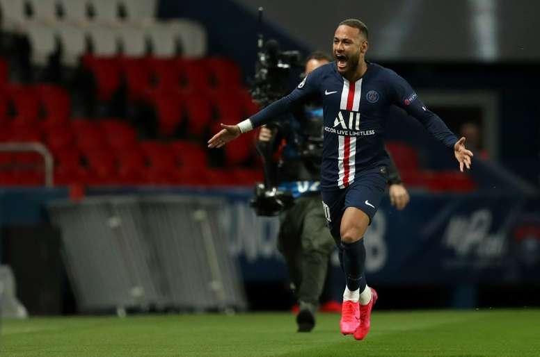 Neymar gave his memories of the season. AFP