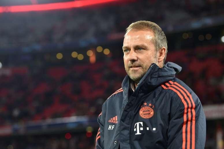 L'intérim de Flick au Bayern prolongé. AFP