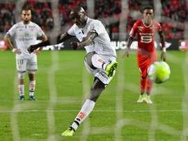 Dijon sort vainqueur de son duel face à Rennes. AFP