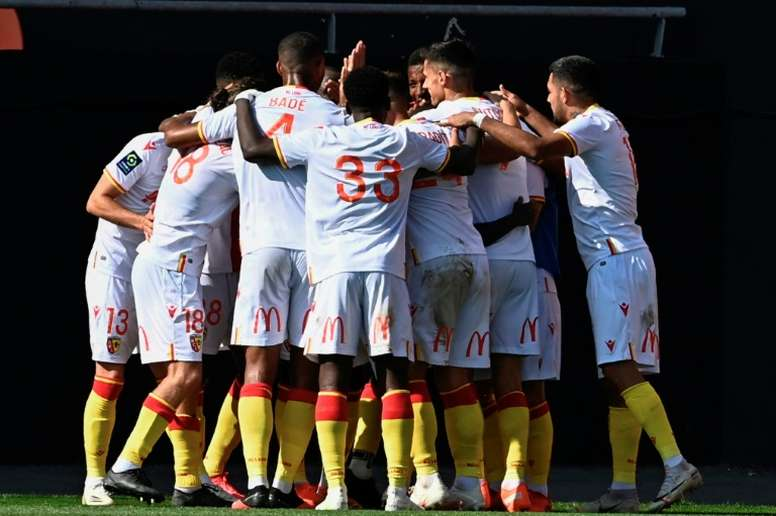 Les compos probables du match de Ligue 1 entre Lens et Bordeaux. AFP