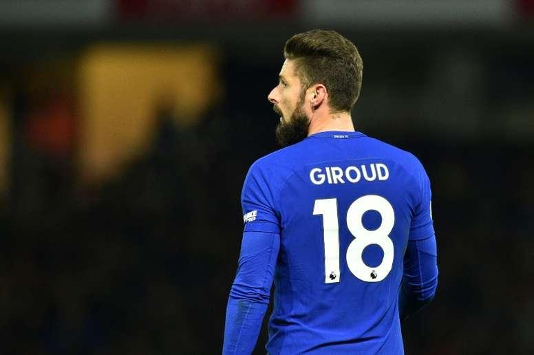Giroud pourrait être titularisé. AFP