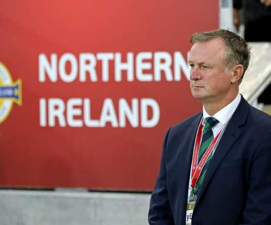 Michael O'Neill quitte son poste de sélectionneur. AFP