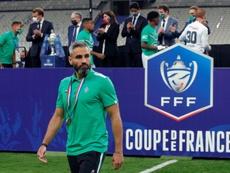 Loïc Perrin, capitaine de l'AS Saint Etienne, annonce sa retraite. afp