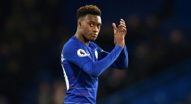 Callum Hudson-Odoi may be on his way out of Chelsea. AFP