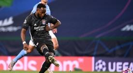 Moussa Dembélé dans le viseur d'un club de Premier League. AFP