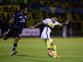 MIna llegó a River tras despuntar en la pasada Libertadores. AFP