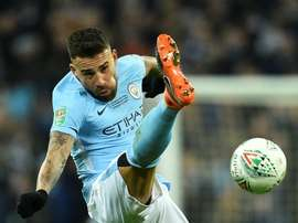 There are rumours of Nicolas Otamendi's possible return to River Plate. AFP