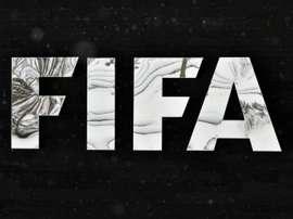 Le logo de la Fifa, sur les murs du siège de la fédération internationale à Zurich. AFP