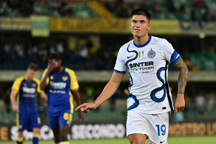 Correa e Lautaro dão a vitória ao Inter.AFP