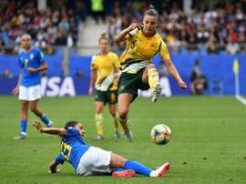Logarzo, la 'Superwoman' australienne. AFP