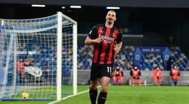 Ibrahimovic a rencontré le sélectionneur en vue d'un retour en équipe de Suède. afp